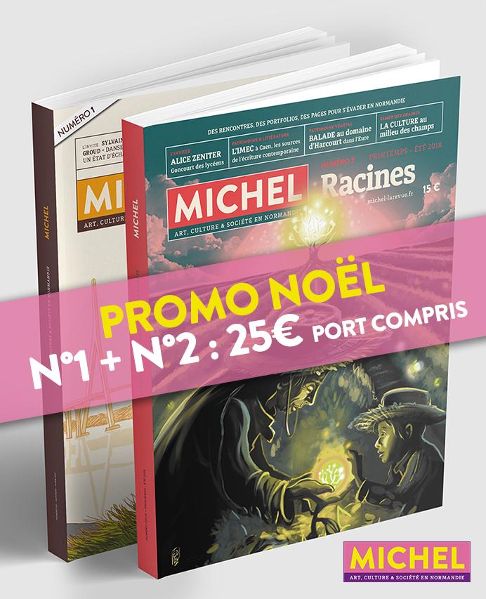 Promo Noël, lot MICHEL N°1 +N°2