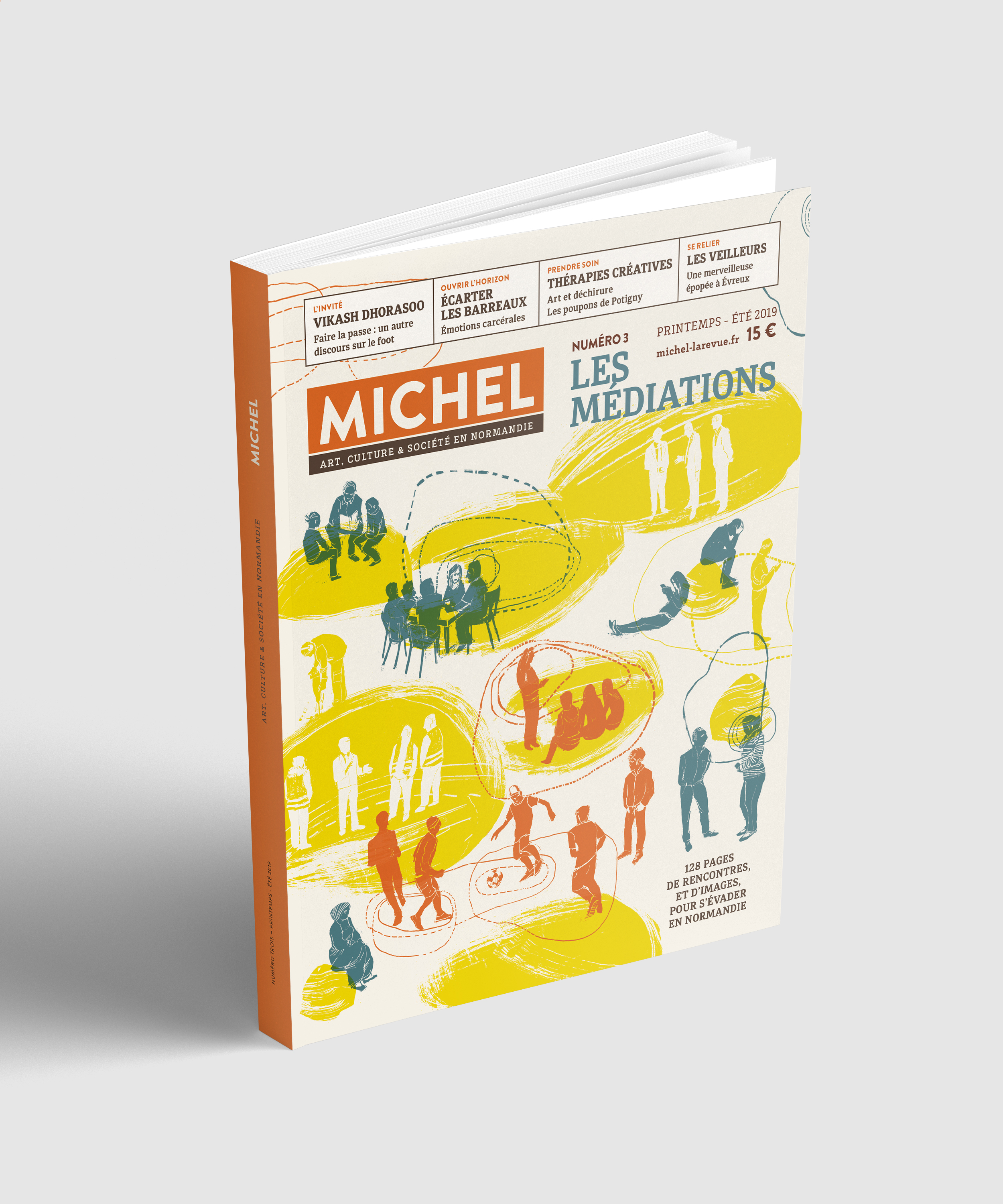 Nouveau : MICHEL N°3 «MEDIATIONS»