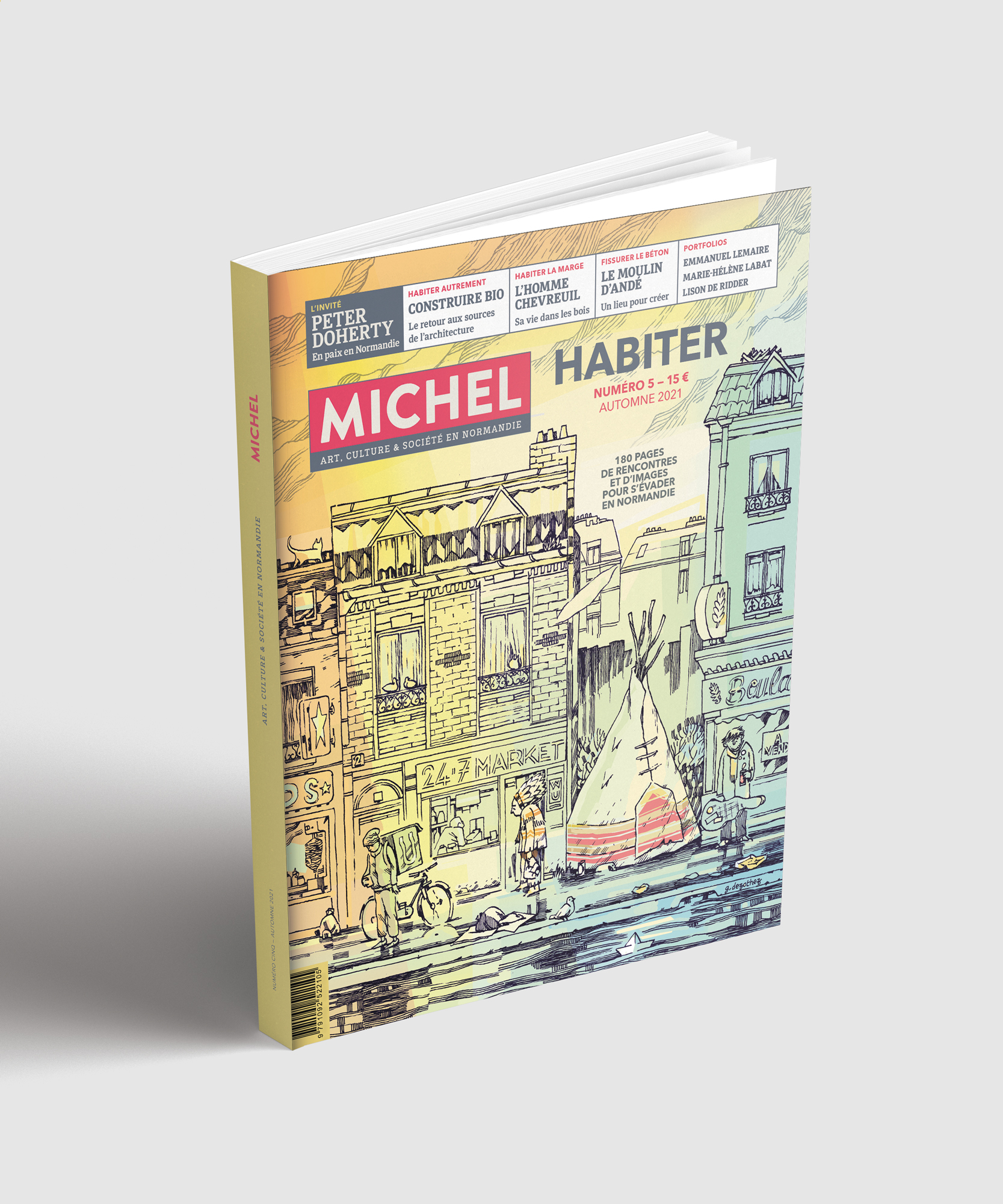 Nouveau : MICHEL N°5 «HABITER»